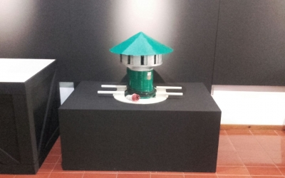La sirena de Gernika exposada al Museu d'Història de Sabadell | Cedida