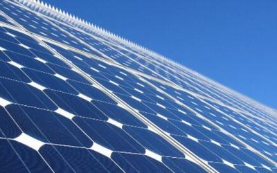 Imatge d'una placa solar/ cedida
