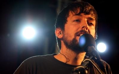 Pau Vallvé en un concert