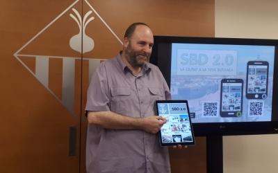 Miquel Soler ha presentat avui la nova aplicació/ Karen Madrid