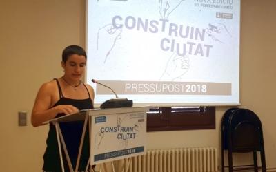 Glòria Rubio ha presentat avui les novetats del Construint Ciutat/ Karen Madrid