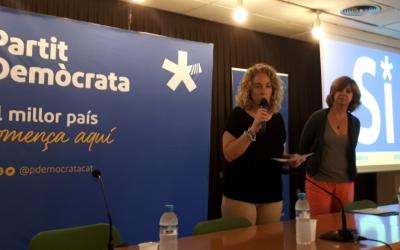 Borràs, en l'acte al Casal Pere Quart/ Karen Madrid