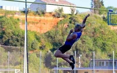 Pinero ha estat l'única atleta de la JAS que ha pujat al podi | Salva Pou