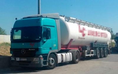 Vehicle del camioner detingut. Foto: Mossos d'Esquadra