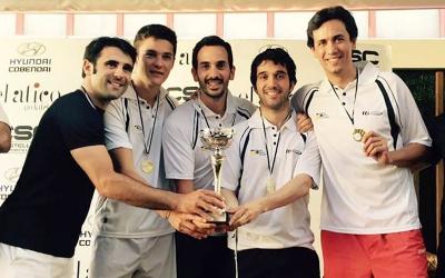Els sabadellencs ja van proclamar-se campions d'Espanya l'any passat a Madrid | Squash.cat