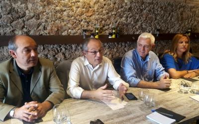 Els quatre regidors de CiU fan balanç dels dos anys de mandat