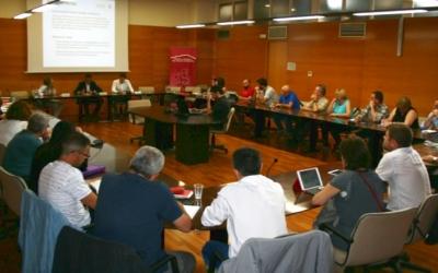 L'estudi 'Desigualtat i Pobresa' s'ha presentat avui al Consell Comarcal/ Cedida