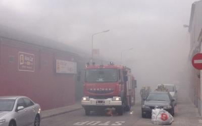 Imatge des del carrer. Foto: Marc Domingo, twitter @marcsunday