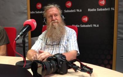 En Lluís Brunet, sempre amb la seva càmera a punt.