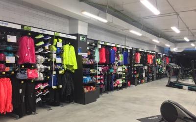 L'interior de la botiga ubicada a la Rambla