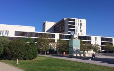 L'exterior de l'Hospital de Sabadell | Arxiu