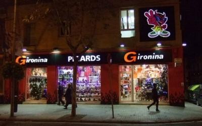 Façana de la botiga La Gironia a l'Eixample de Sabadell. Foto: www.acesabadell.com