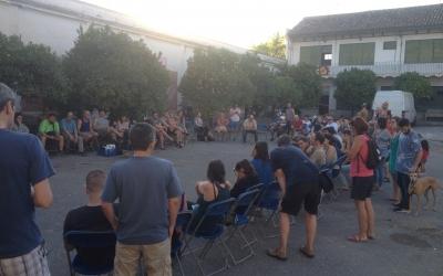L'assemblea de Volem la Caserna. Foto: Ràdio Sabadell
