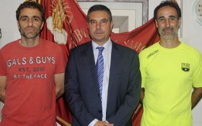 Piti (esquerra) i Gimeno (dreta) formaran el cos tècnic grana | FC Santboià