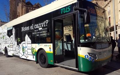 Els autobusos de la TUS ja apliquen els horaris d'estiu