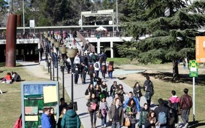 Imatge del Campus de la UAB a Bellaterra