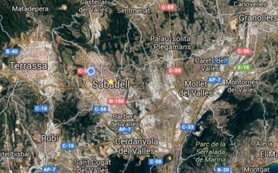 Mapa de les ciutats que integren els dos Vallesos
