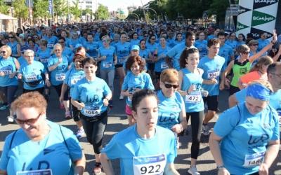Imatge de la sortida de la Women Race ahir