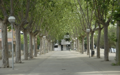 Passeig de Cal Jepó a Hostafrancs. Foto: Ràdio Sabadell