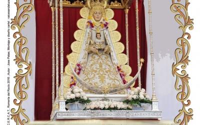 Imatge del cartell de la Romería de Catalunya. Foto: FECAC