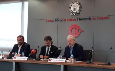 Cuixart, a la Cambra de Comerç de Sabadell/ Karen Madrid
