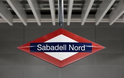 Detall de l'estació Sabadell Nord, Foto: Ajuntament de Sabadell. Autor: Juanma Peláez