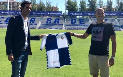 Bruno Batlle i Dani Gómez aquest migdia a la Nova Creu Alta | CES