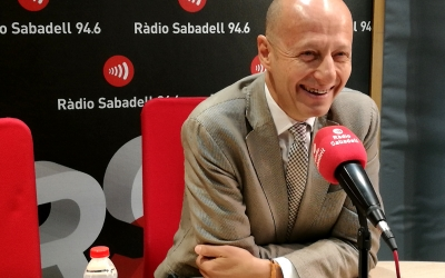 Calzada aquest matí a Ràdio Sabadell | Adrián Arroyo