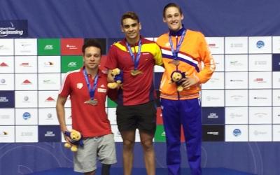 Salguero s'ha endut dues medalles d'or | Twitter