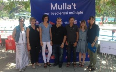 Presentació de la campanya Mulla't a la Bassa. Foto: Ràdio Sabadell