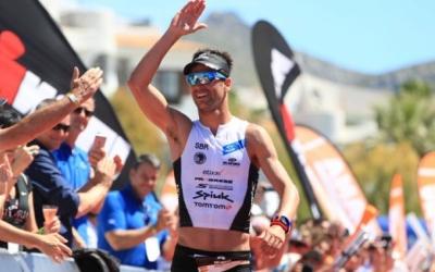 Blanchart al mig Ironman de Mallorca d'aquest any