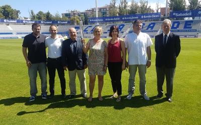 Fotografia dels assistens a l'acte per commemorar els 25 anys dels Jocs