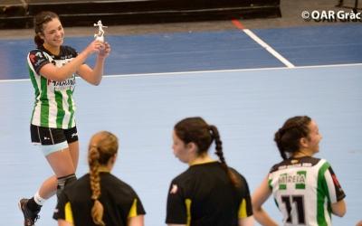 Irene Garcia rebent l'MVP de la Granollers Cup | OAR Gràcia