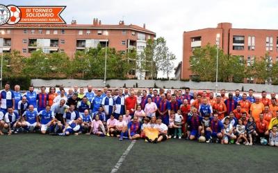 El Centre d'Esports va guanyar el torneig de veterans, una de les novetats enguany | Críspulo Díaz