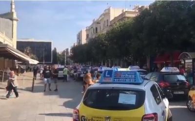 Imatge de la manifestació del 27 juny a Sabadell