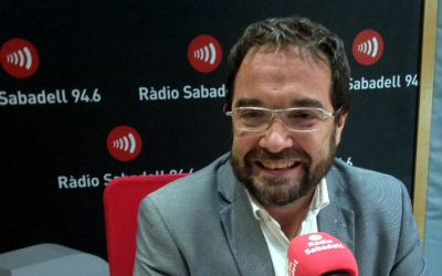 Juli Fernández ha passat aquest matí pel Desperta Sabade/ Ràdio Sabadell
