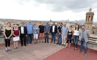 Els regidors del govern aquesta tarda | Juanma Peláez