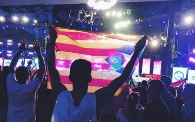 Martí Graells, durant l'Ultra Music Festival/ Cedida
