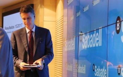 Jaume Guardiola, conseller delegat del Banc Sabadell. Foto: ACN Autor: Maria Fernández Noguera