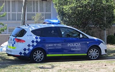 Un cotxe de la Policia Muncipal