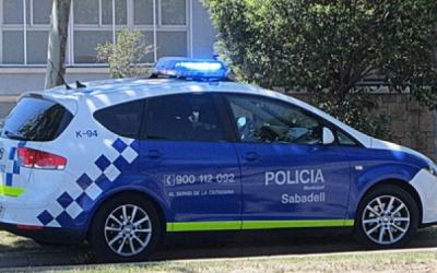 Un cotxe de la Policia Municipal
