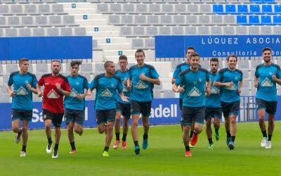 La plantilla del Sabadell continua mancada d'efectius