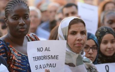 Missatges de  pau i rebuig al terrorisme a la concentració | Roger Benet