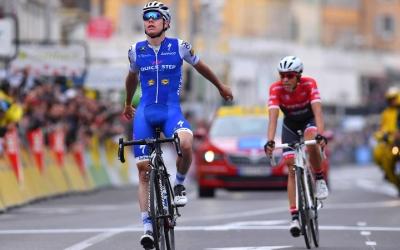 David de la Cruz derrotant a Contador a la Paris - Niça