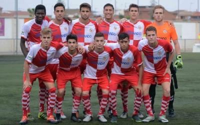 Onze titular del Sabadell B ahir a Ca n'Oriac