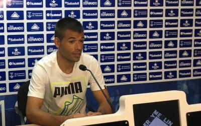 Felipe Sanchón en roda de premsa