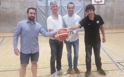 Jordi Zamora (a l'esquerra) espera assolir l'objectiu de la permanència