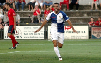 Felipe Sanchón celebrant el seu gol | Sendy Dihor