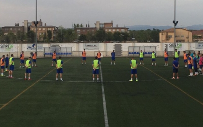 El Sabadell Nord i el Martinenc van guardar un minut de silenci abans del partit