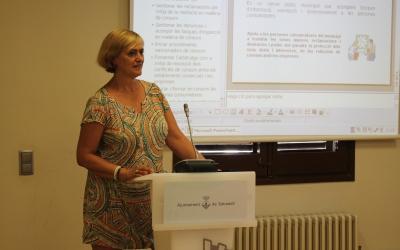 Marisol Martínez, tinenta d'alcalde i regidora de Comerç